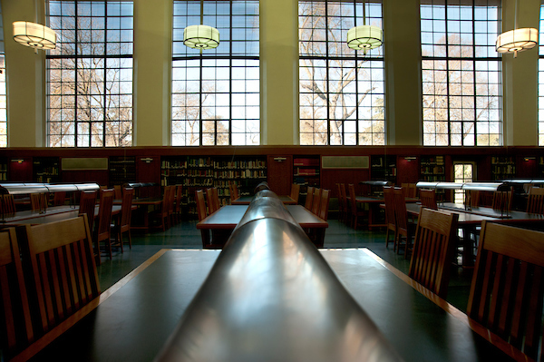 Shields Library Indoors